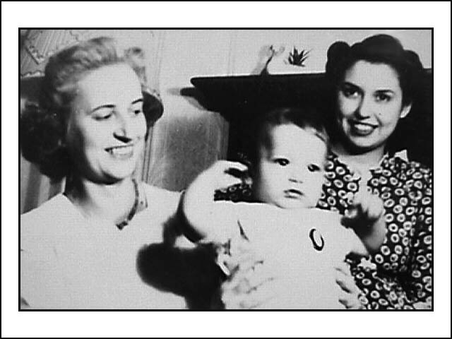 Dorothy, grandson & daughter