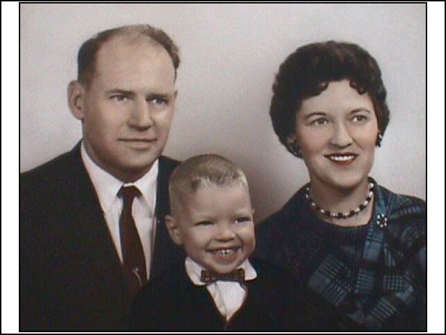 Zelma and William with son