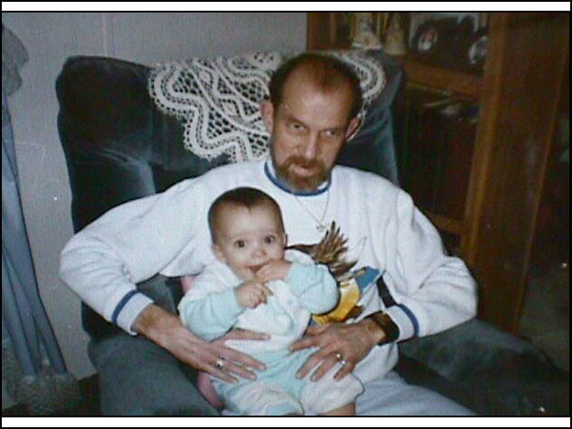 Cyrus and grandaughter Lynsey