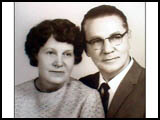 Edna Mae Huff and her husband