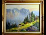 Painting - Switzerland