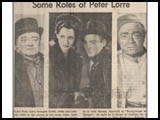 Peter Lorre continued