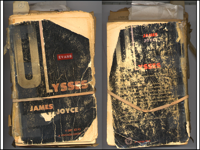 His copy of Ulysses