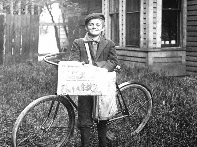Abraham the paperboy