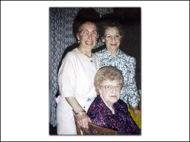Nina, Marjorie and Donna