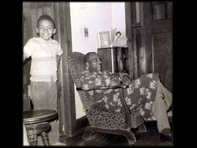 Maurice with Grandfather
