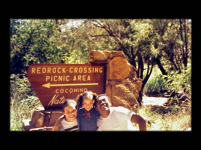 At Red Rock Crossing