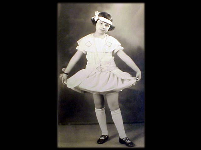 Jean as a Young Dancer