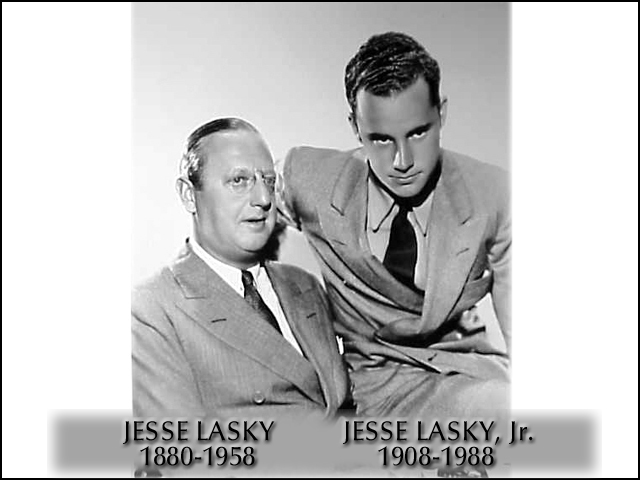 Jesse Lasky Sr. and Jr.