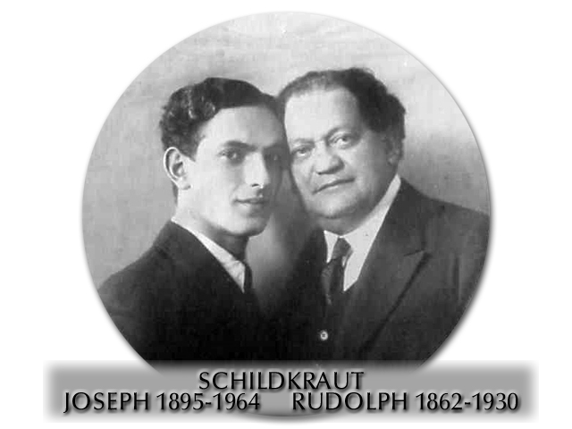 Rudolph and Joseph Schildkraut