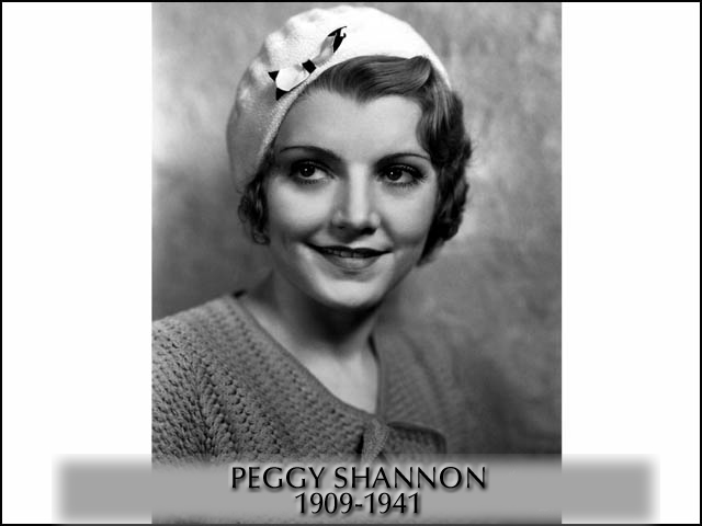 Peggy Shannon