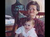 Golda with Great-Grandchild