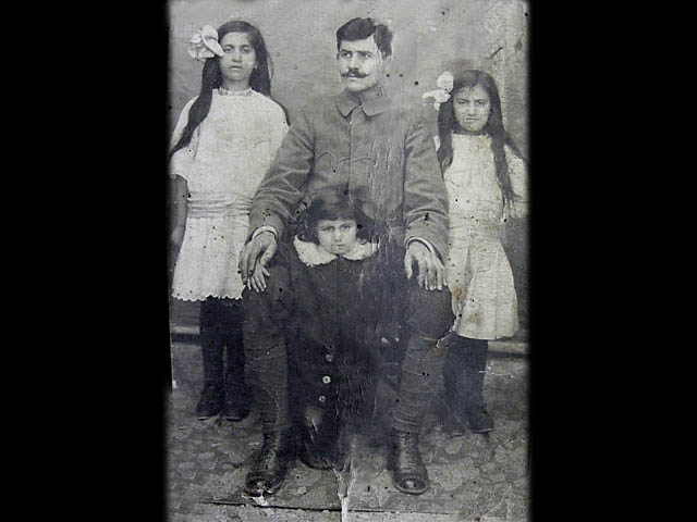 Father with 3 Daughters