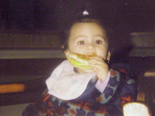 Baby's First Cheeseburger
