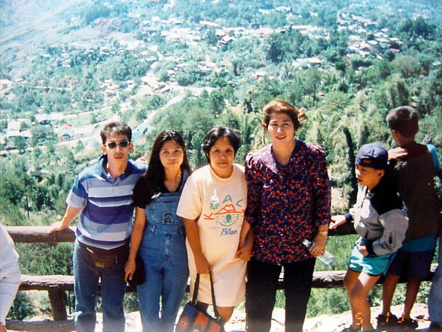 In the Philippines with Family