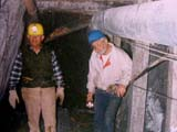 Tony and Frank at Gold Mine