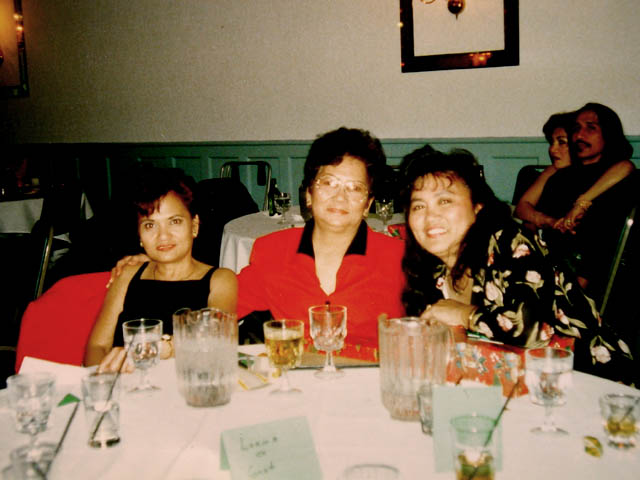 Lorna, Mom and Friends