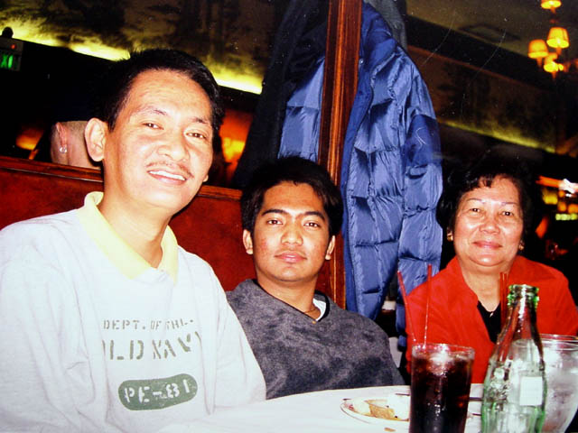Lorenzo, Carlo and Mom