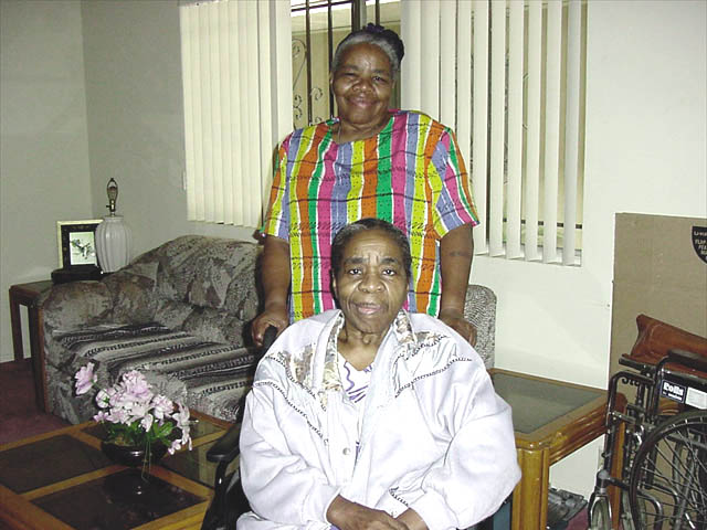 Ida with Sister Frances