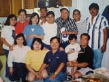 With Lolo Croning's Family