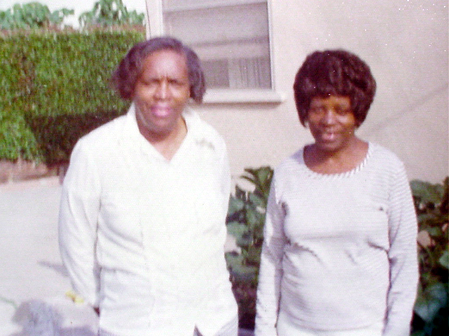 Ethel and Sister, Myrtle Lee