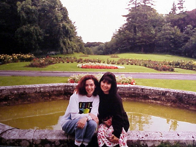 Me and Tanya in Ireland