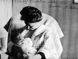 Baby Merton with Mother