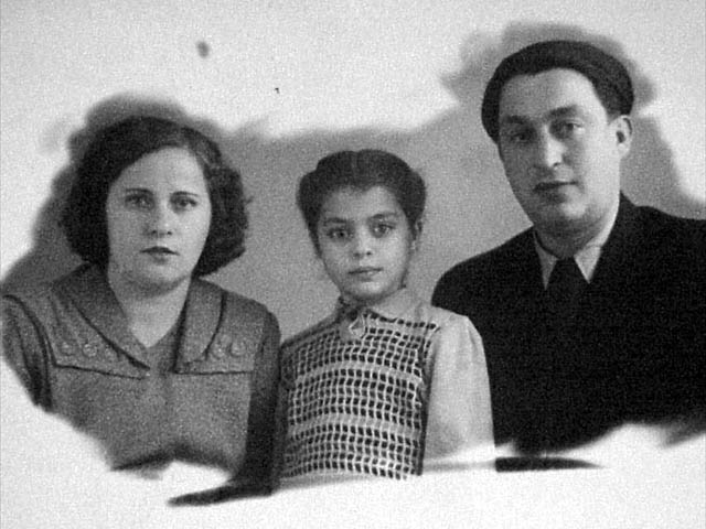 Leonid With Wife and Daughter