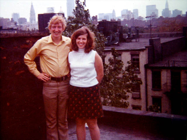 In N.Y.C. with Sister Sandy