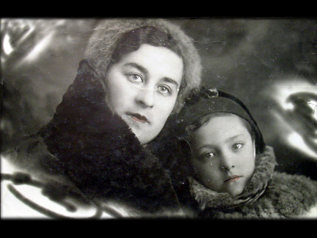 Bela and Her Mom, Rosa
