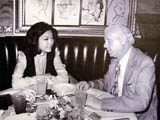 Interviewing Connie Chung