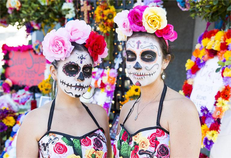 , Dia de los Muertos at Hollywood Forever