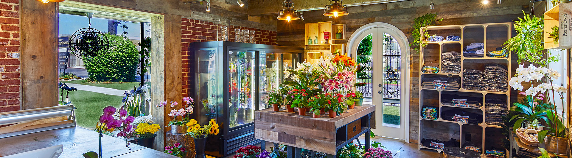 , Flower Shop Old