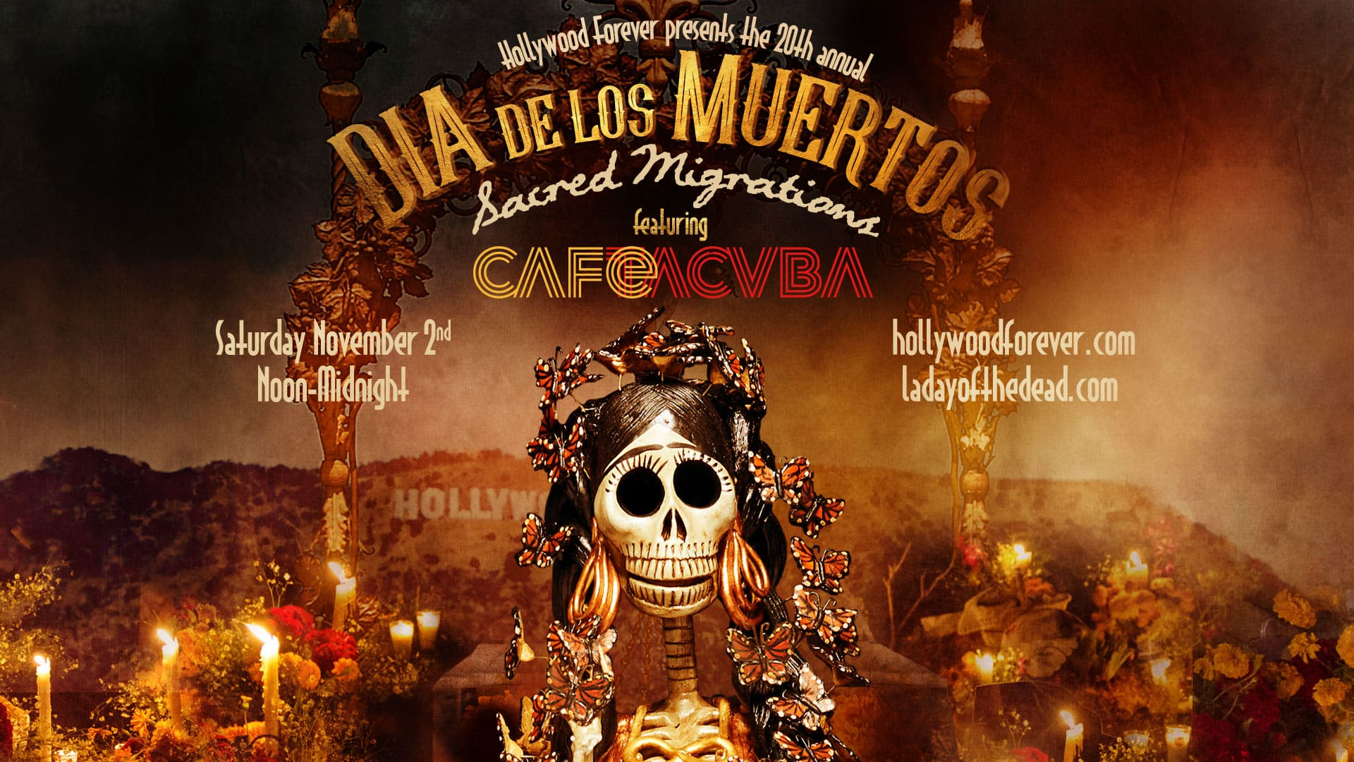 Hollywood Forever's 20th annual Dia de los Muertos